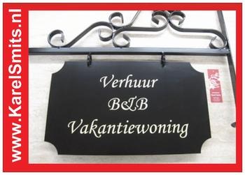 nostalgisch Uithangbord Groot Haarlem Zwart
