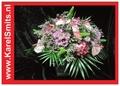 Bloemstuk Biedermeier Roze Anthurium 202