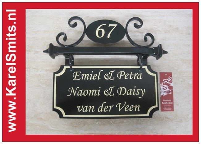 Naambord Eindhoven AntiekGroen