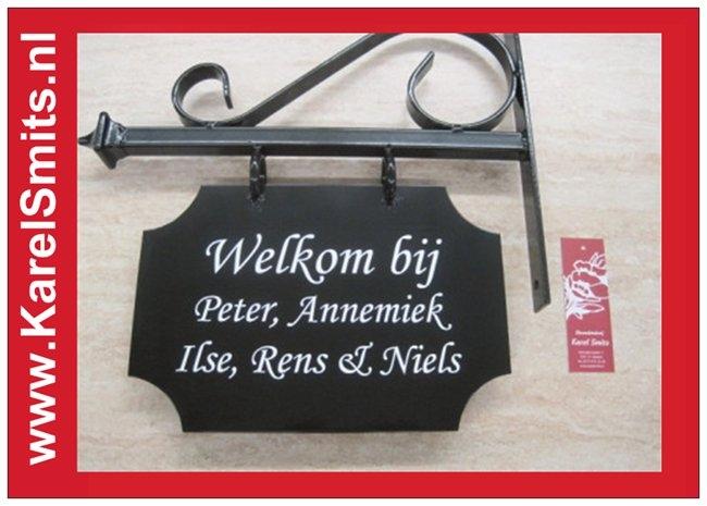 Nostagisch Uithangbord Maastricht Zwart