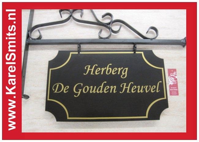 Nostagisch Winkelbord Haarlem Zwart
