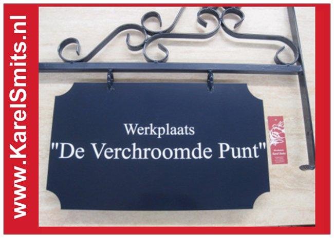 Voorbeelden Uithangbord Groot Haarlem Blauw