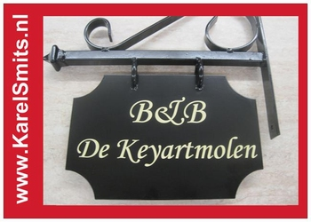€54,45 Landelijk Uithangbord Restaurant Voordeur Zwart