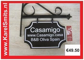 €69,50 Landelijk Uithangbord Casamigo Vakantiehuis Spanje