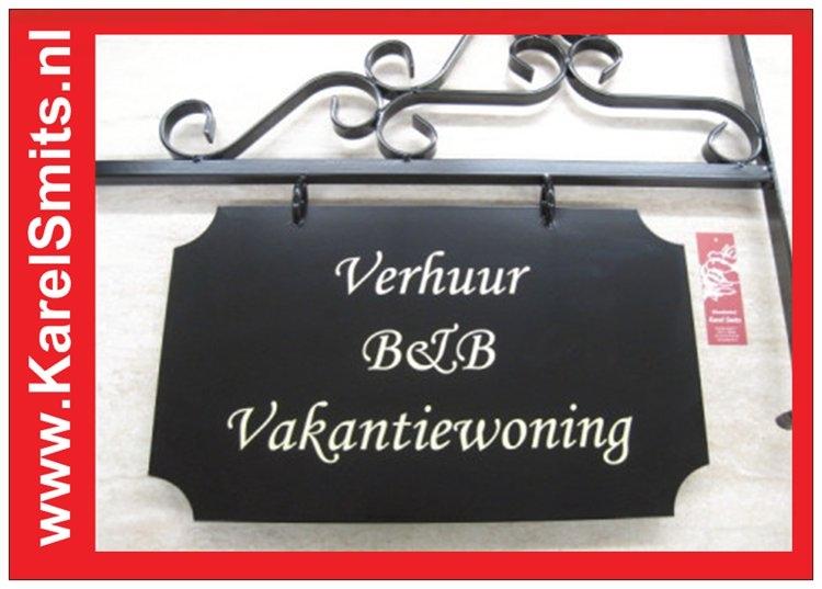 €142,50 Landelijk UithangbordGroot Restaurant Voordeur Zwart