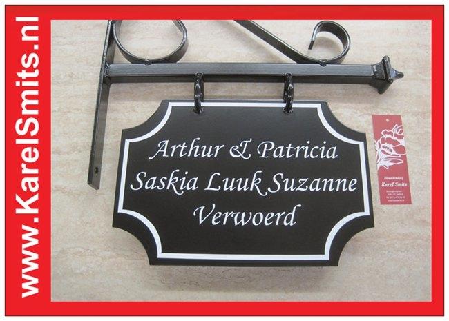 €54,45 Landelijk Uithangbord Tuinlamp Voordeur Zwart