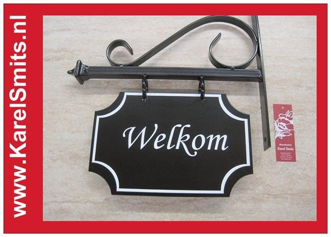 €69,50 Landelijk Uithangbord Maken Voordeur Zwart