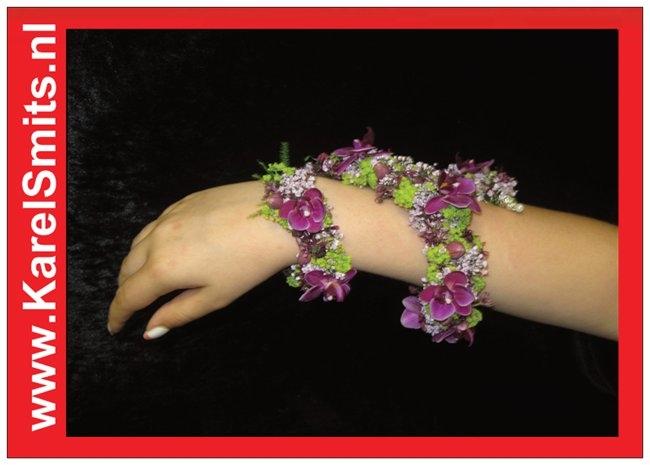 304 Polscorsage arm orchidee