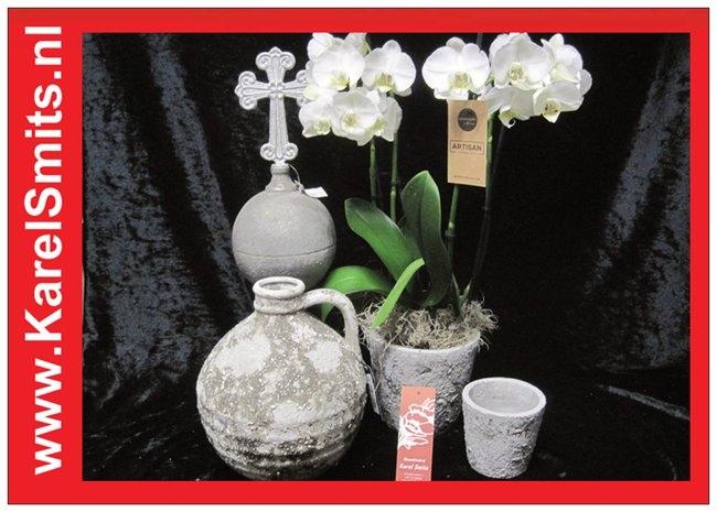 Pot Lenswood Grijs Groot Roberts Collection