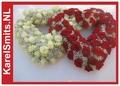 Rouwbloemstuk tak rood kerst 102