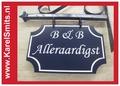 €54,45 Landelijk Uithangbord Winkel Voordeur Blauw