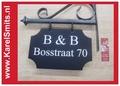 €69,50 Uniek Uithangbord Kopen Voordeur Blauw