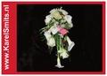 101 Bruidsboeket waterval Calla Roos Wit