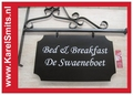 €103,95 Landelijk Uithangbord Groot Winkel Voordeur Zwart