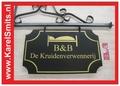 €142,50 Landelijk Uithangbord Groot bed & Breakfast Groen