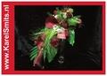 109 Bruidsboeket oplijn Calla Roos Rood