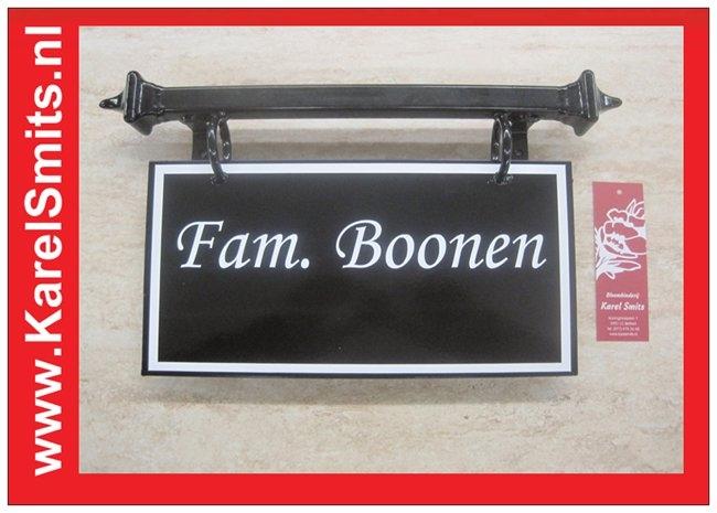 Voorbeelden Naambord Den Bosch Zwart