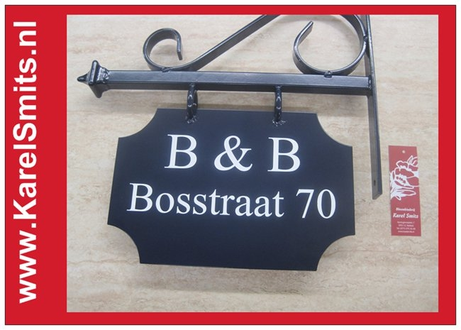 Voorbeelden Uithangbord Maastricht Blauw