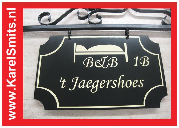 Winkelbord Haarlem GrachtenGroen
