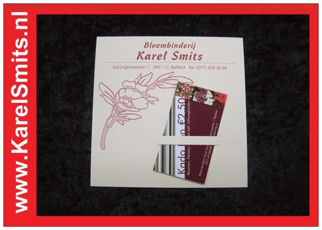 Cadeaubonnen kopen bij Karel Smits