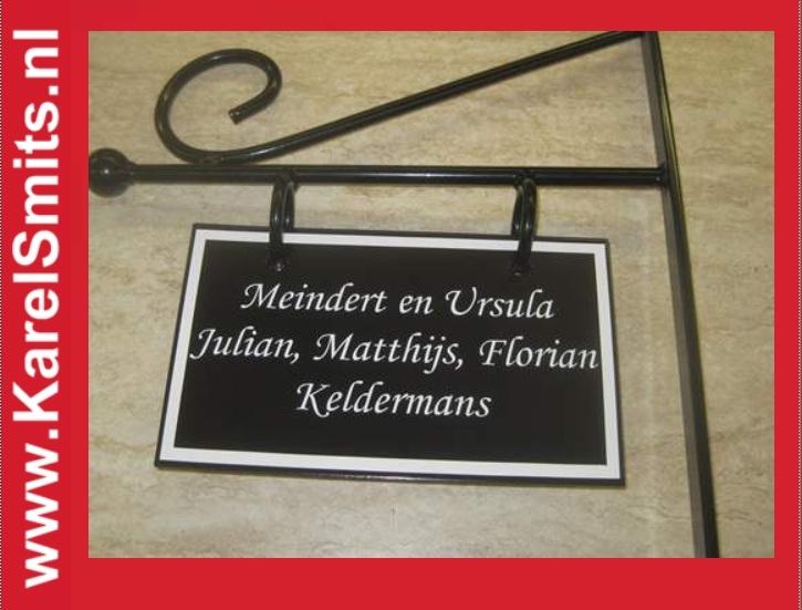 Uithangbordjes Middelburg GrachtenGroen